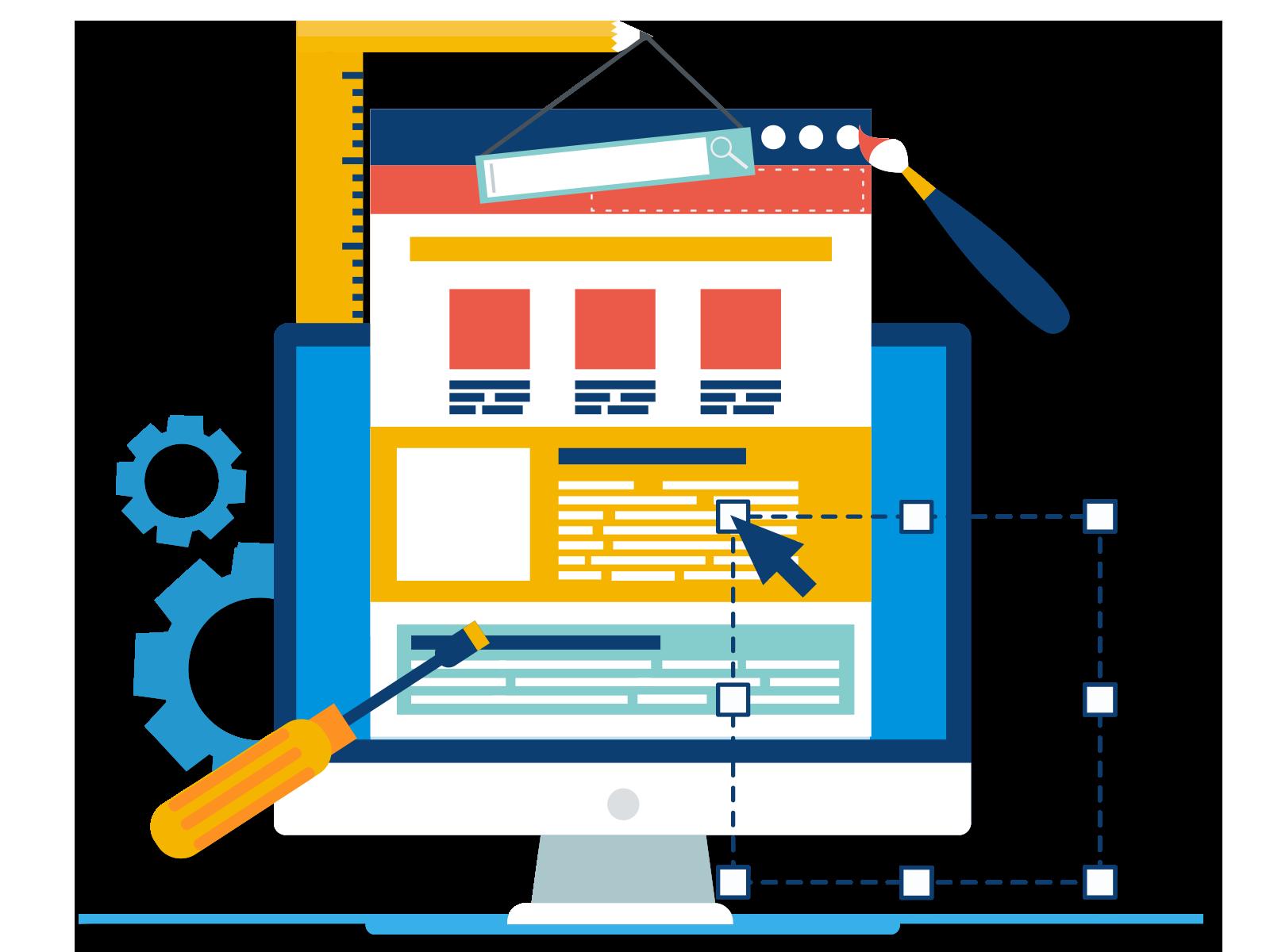 Website Development and Design Website Development and Design adminControl